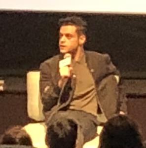 Rami Malek. Photo by Karen Salkin.