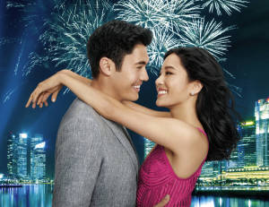 Henry Golding and Constance Wu, who looks a heck of a lot younger in this film than she does on her TV show!