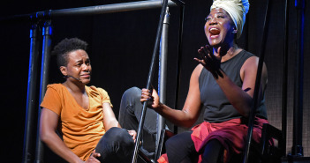 org_img_1549565917_L-Jamar Williams (Griffin), Amber Iman (Joy). Photo by Kevin Parry