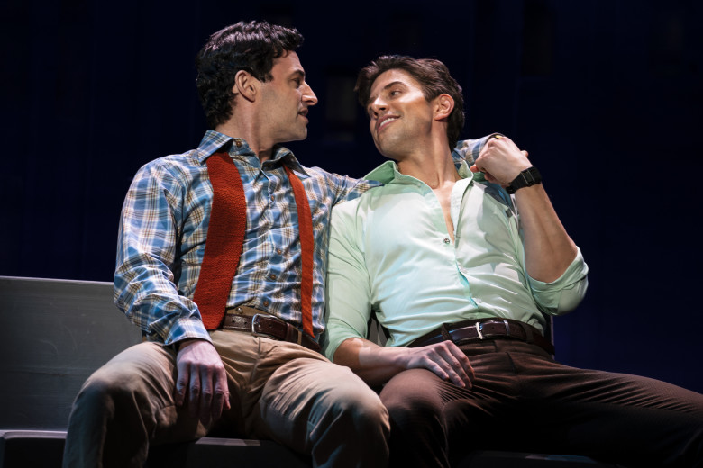 Max von Essen and Nick Adams. Photo by Joan Marcus.