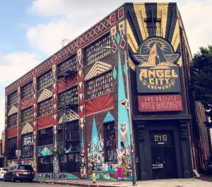 Angel City Brewery--the venue for the Collective Foodie.