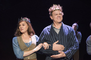 Amie Farrell and John C. Reilly. Photo by Nick Agro, as is the big one at the top of this page.