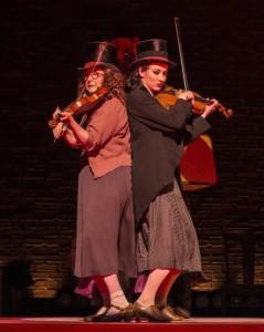 Lisa Gutkin and Elizabeth A. Davis. Photo by Craig Schwartz.