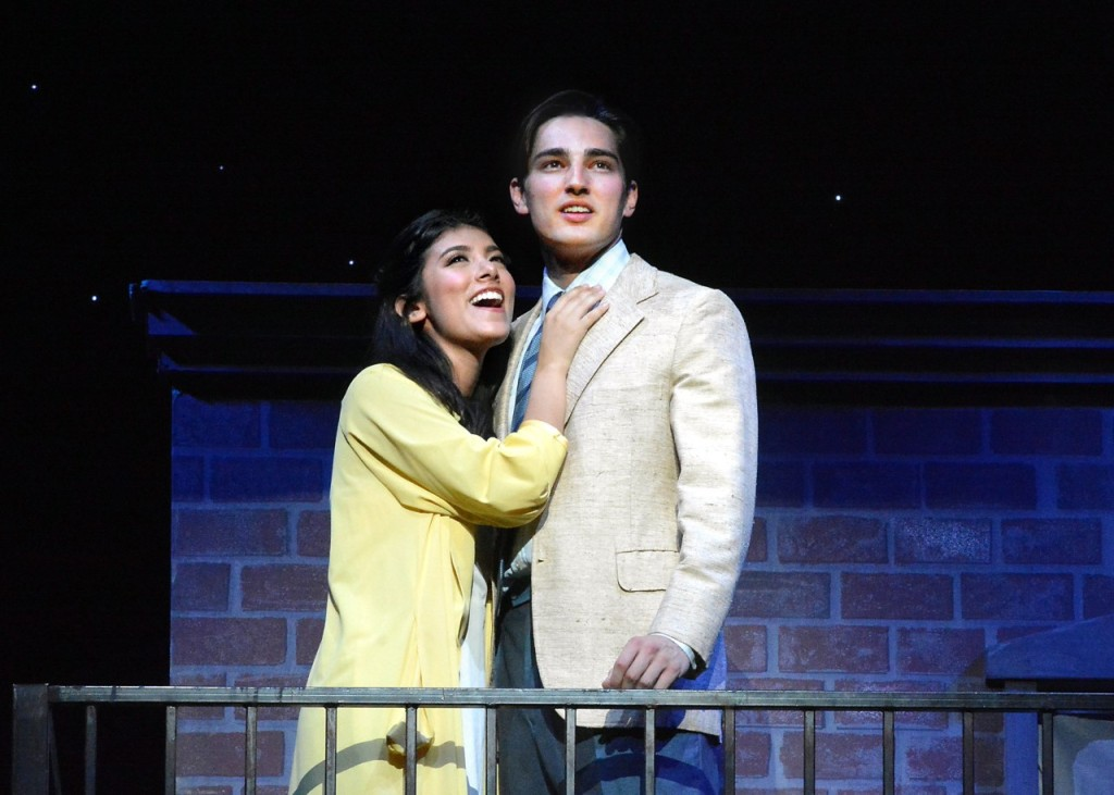 Giselle Torres and Brandon Keith Rogers. Photo by Ed Krieger.