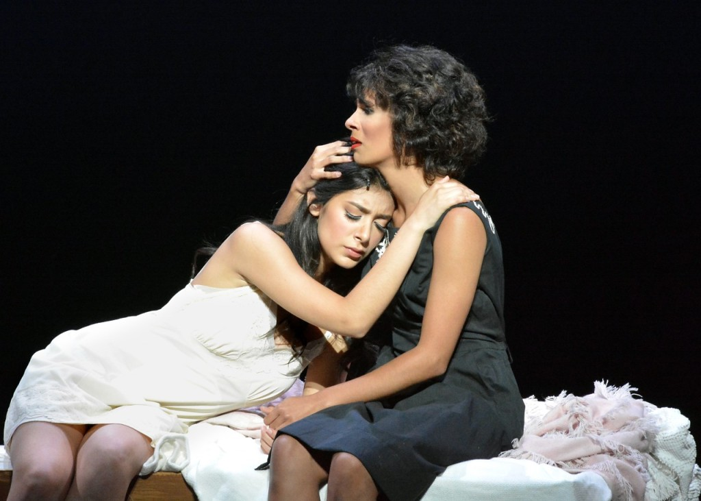 Giselle Torres and Lauren Louis. Photo by Ed Krieger.