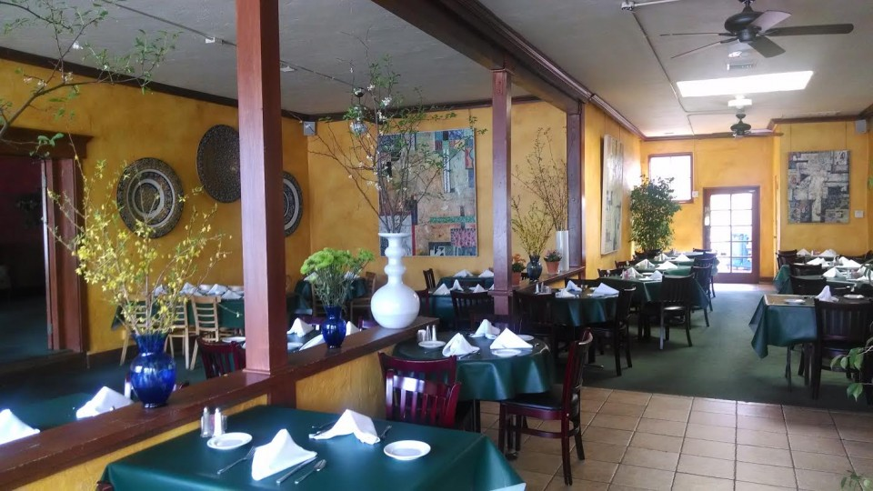 The interior of Back On Broadway.