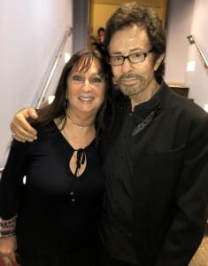 Karen Salkin and George Chakiris. Photo by Mr. X.