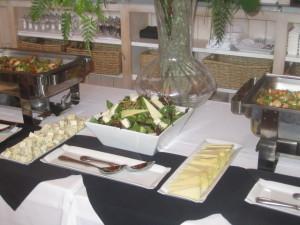 The buffet. Photo by Karen Salkin.