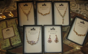 The Downton Abbey collection. Photo by Karen Salkin.