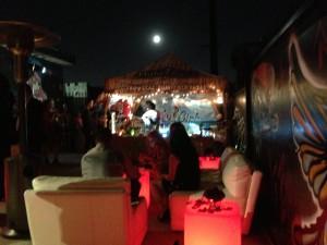 The patio Tiki Bar. Photo by Karen Salkin.