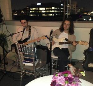 The guitarists. Photo by Karen Salkin.