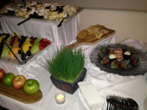 Some of the desserts. Photo by Karen Salkin.