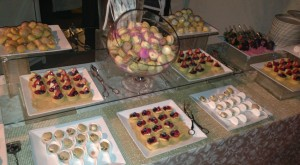 Dessert buffet.  Photo by Karen Salkin.