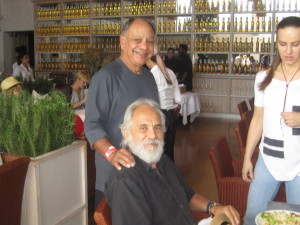 I can't believe I had lunch next to Cheech AND Chong! Photo by Karen Salkin.