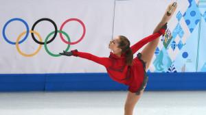 Yulia Lipnitskaya.