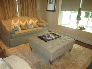 The living room in the Casita. Photo by Karen Salkin.