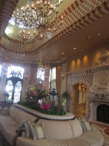 The magnificent lobby. Photo by Karen Salkin.