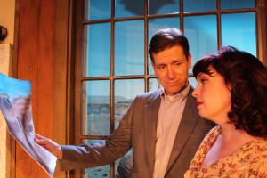 John DeMita and Leona Britton.  Photo by Charlie Mount.