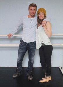 Derek Hough and Amy Purdy.