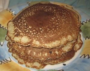 A stack of Karen Salkin's famous pancakes. Photo by Karen Salkin.