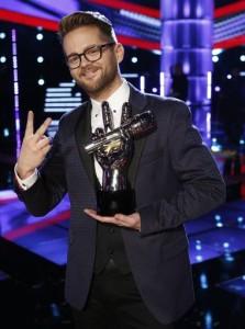 The Voice winner, Josh Kaufman.