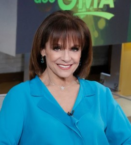 Valerie Harper on GMA, looking as beautiful as ever, two days after I bumped into her in Manhattan.