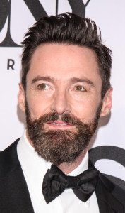 I so love Hugh Jackman, but that beard is repulsive.  (So, sorry for foisting it on you guys!)