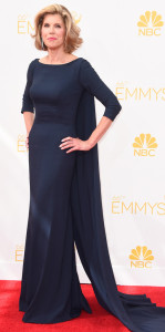 Christine Baranski in the perfect Emmys dress.