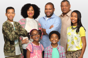 Cast of Black-ish.