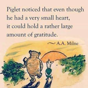 This picture has nothing to do with my story here, but I'm in love with Piglet, and this says it all.
