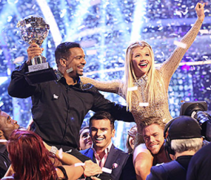 Victors Alfonso Ribeiro and Witney Carson on DWTS.