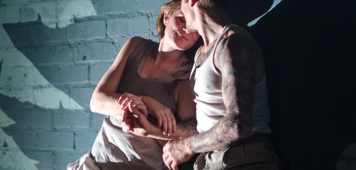 Annie Saunders and Nicholas Konow.  Photo by Jonathan Potter.