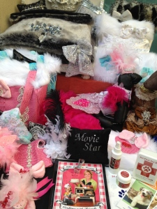 These glamorous items are all for pets!!! Photo by Karen Salkin.
