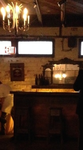 A tiny snippet of the bar area, before the show.  Photo by Karen Salkin.