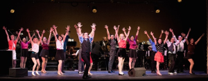 The happy opening number.  Photo by Earl Gibson for The ALS Association Golden West Chapter.