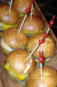 Sliders. Photo by Karen Salkin.