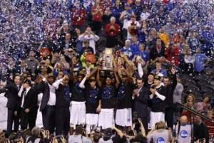 The 2015 NCAA Tournament Champions, the Duke Blue Devils.