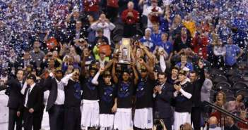 The 2015 NCAA Tournament Champions, the Duke Blue Devils.