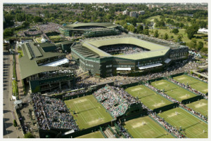 The grounds and courts configuration.