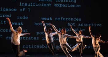 The company of Gush. Photo by Alex Bush.  All dance photos courtesy of Gush.