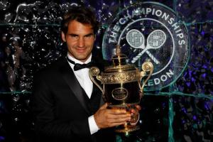 I hope this is the outcome of Wimbledon 2015!  (It's Roger Federer winning, of course!)