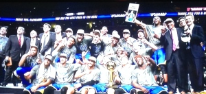 The 2015 Champion Golden State Warriors.