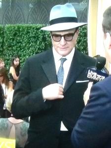 Is that Bradley Whitford or Truman Capote? Photo by Karen Salkin.