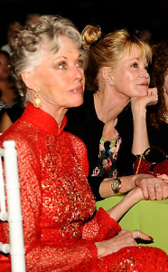 Tippi Hedren and Melanie Griffith.