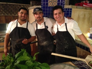 Edgar, Jose, and Juan from Mulberry Street. Photo by Karen Salkin.
