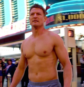Philip Winchester.  Love this guy.  (That's him at the top of this column, too, of course.)
