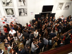 The buzzing post-show  lobby. Photo by Lauren Bennett.