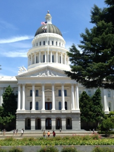 The California State Capitol in Sacramento. Photo by Karen Salkin.