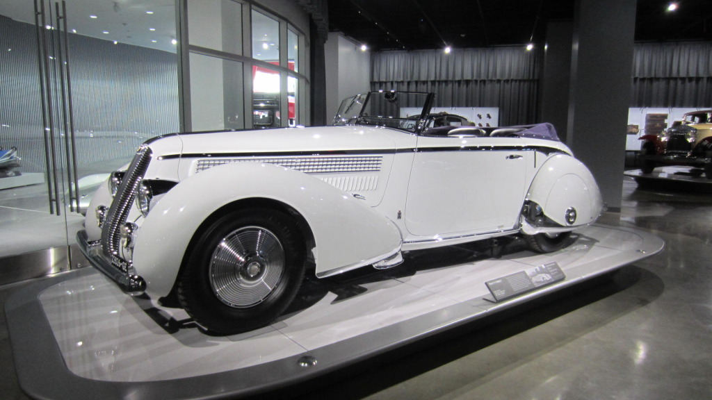 The 1936 Lancia Astura Cabriolet, which inspired my tears. Photo by Celia Yusem.