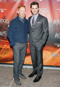 Jesse Tyler Ferguson and Andrew Rannells. Photo by Ryan Miller.